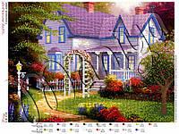 Схема для вышивания бисером Сказочный домик