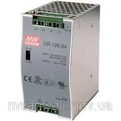 DR-75-12 Блок питания на Din-рейку Mean Well 75,6вт, 12в, 6,3А ᐉ Cнят с производства, замена ✅ NDR-75-12 ✅