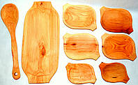 Набор посуды из дерева, фото 1