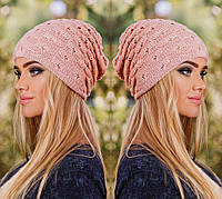 """Стильная женская шапка """" H """" Yulia"""