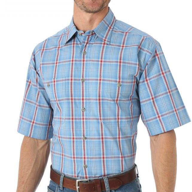 Рубашка Wrangler, XL,Slate Blue, RWS81SB