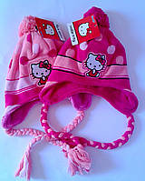 Головные уборы Зима Hello Kitty обх. гол. 52 см 770-308 Sawrio Польша