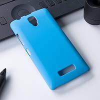Голубой чехол с противоскользящим покрытием для Lenovo A2010, фото 1