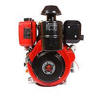 Двигатель дизельный WEIMA WM188FВЕ (12 л.с., шпонка, эл.старт)