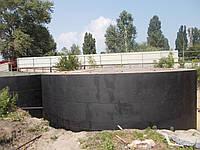 Резервуар стальной вертикальный РВС 1000 м³ для хранения карбомидно-амиачной смеси (КАС)
