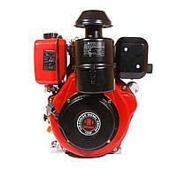 Дизельный двигатель WEIMA WM188FВ (12 л.с., шпонка Ø30мм, L=60мм, ручной старт)