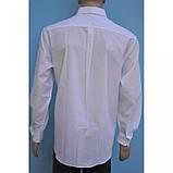 Белая классическая рубашка с длинным рукавом, фото 3