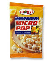 Mogyi Попкорн для микроволновой печи с сыром,100 г