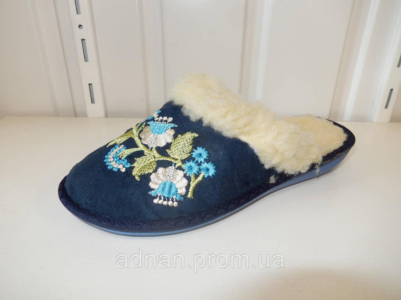 Тапочки женские БЕЛСТА, мех 6 пар в упаковке,TAP TJ-9002-001 Украина/ купить тапочки оптом