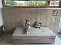 """Кровать """"Элиза"""" для девочки со стразами, (пуговицами) кристаллами Swarovski"""