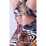 S/42 Облегающее мини платье анималистической расцветки SALE!, фото 3