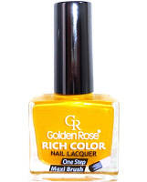 Лак для стемпинга golden rose rich color 10 мл ЖЁЛТЫЙ