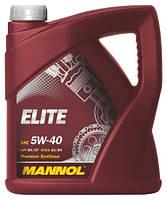Автомобільне масло для двигуна Mannol ELITE 5w40 (5l)