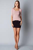 Короткая юбка женская джинс  черная SALE!