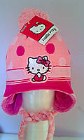 Головные уборы Зима Hello Kitty обх. гол. 54 см 770-308 Sawrio Польша