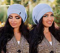 """Стильная женская шапка """" Амстердам """" Yulia, фото 1"""
