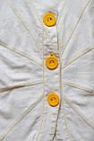 Жакет женский  льняной с рукавами три четверти ВЕСНА- ЛЕТО, фото 3
