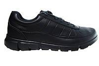 Мужские кроссовки Ecco, кожа, синие, Р. 41 42 43 44 45