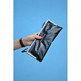 Сумка - клатч черная  лакированная, фото 3