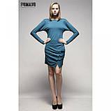 44/S Soul платье трикотажное с рукавом реглан светло-серое , фото 4