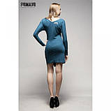 44/S Soul платье трикотажное с рукавом реглан светло-серое , фото 5