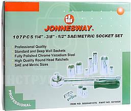 Набор инструментов JONNESWAY S05h48107S (107 предметов), фото 3