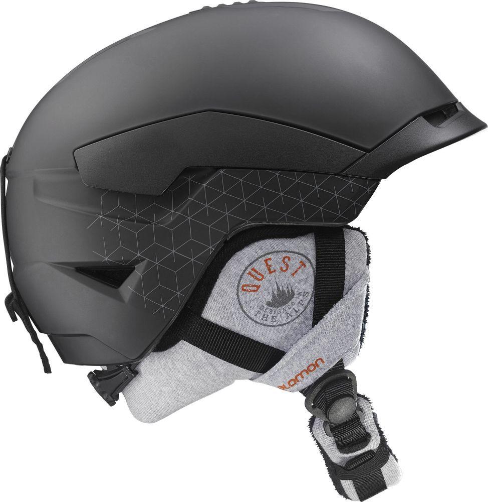 Горнолыжный шлем Salomon Quest Access black mat (MD)