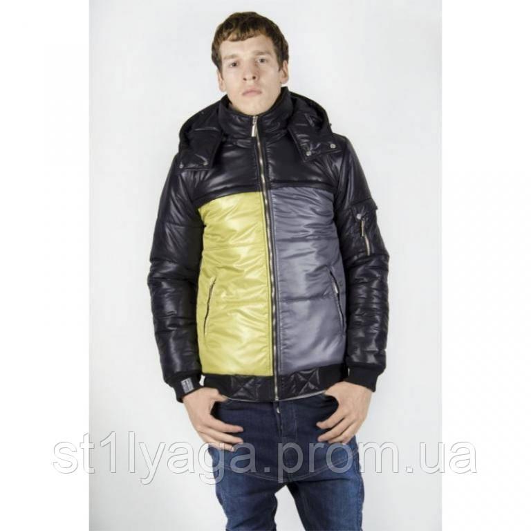 46/ М Куртка мужская на синтепоне зима