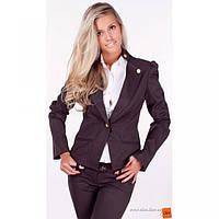 Пиджак черный длинный рукав  SVAND Украина