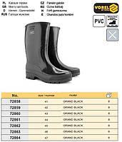 Сапоги резина модель GRAND BLACK размер 41 VOREL-72858