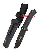 Туристический нож выживания Ganzo G8012-BK