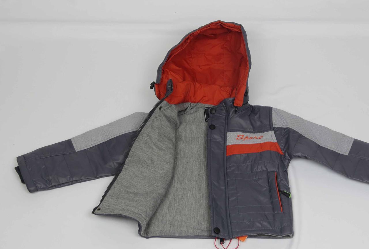 Куртка весна-осень,код с-26, размеры рост 92 см - 110 см, размеры 2-5 лет, фото 3