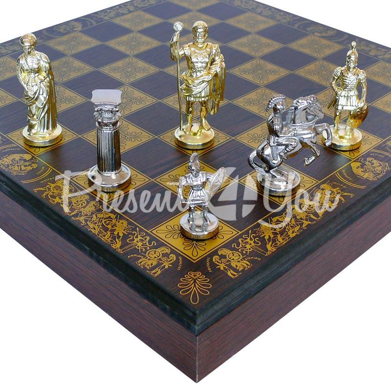 Шахматы «Римляне», 41х41 см.