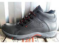 Ботинки мужские зимние Columbia кожаные черные, коричневые C0011