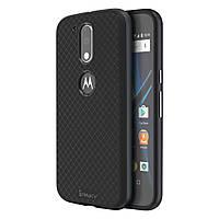 Чехол накладка IPAKY TPU + бампер PC для Motorola Moto G4 G4 Plus серый