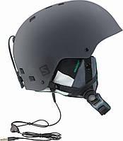 Горнолыжный шлем Salomon BRIGADE AUDIO Grey/FOREST green (MD)