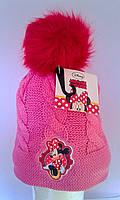 Головные уборы Зима Minnie Mouse Обх. Гол. 52 см 770-269 CottonLand Польша