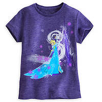 Футболка для девочки 5/6, 7/8 лет Эльза Холодное сердце Дисней / Elsa Tee for Girls Disney