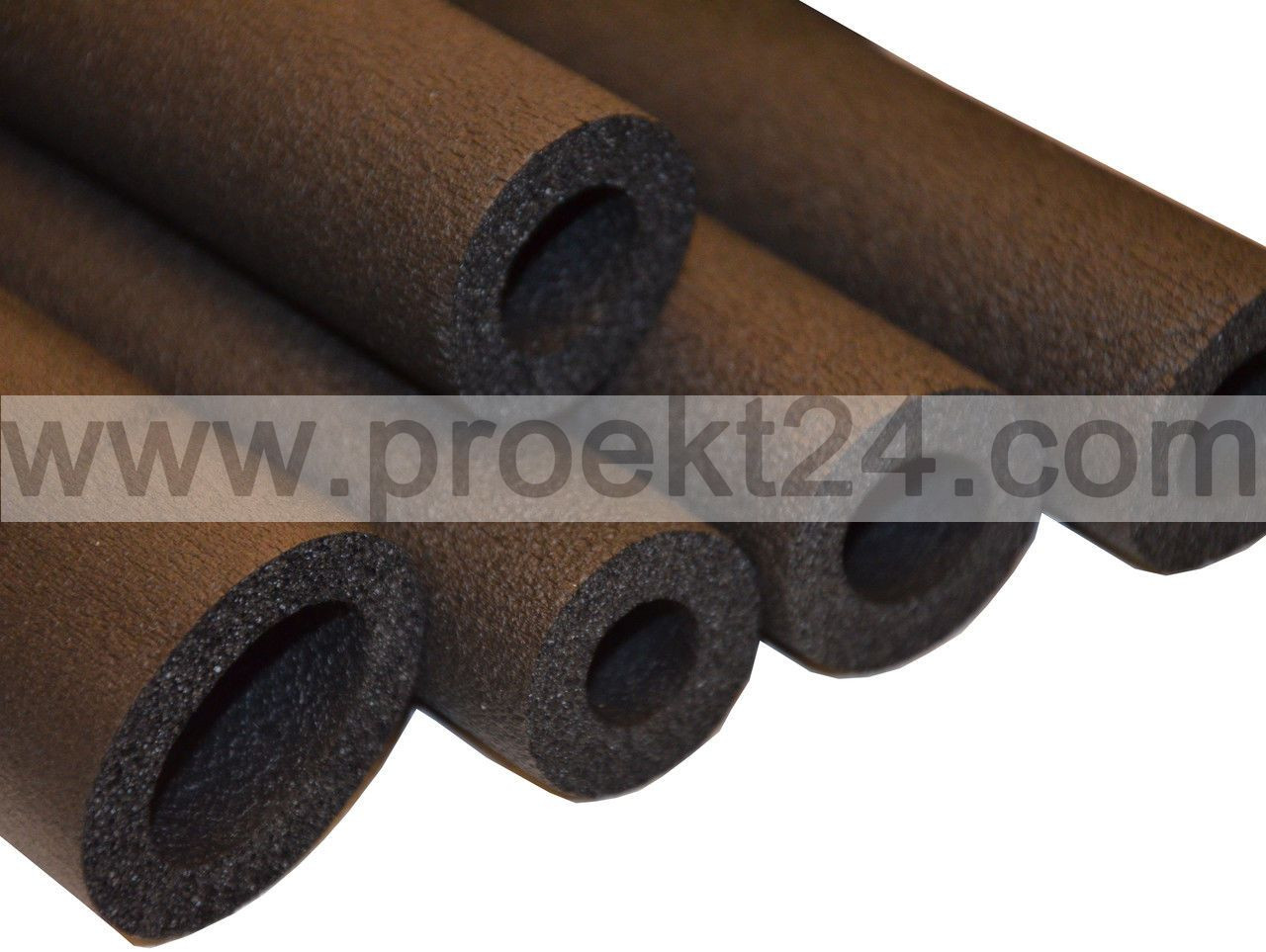 Трубная каучуковая изоляция 22/19, Ø=2 мм, толщ.:19 мм