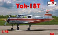 1:48 Сборная модель самолета Як-18Т, Amodel 4810