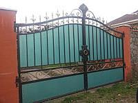 Кованые ворота арт.в 12, фото 1