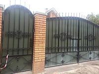 Кованые ворота арт.в 13, фото 1
