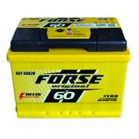 Аккумулятор FORSE 60Ah/12V (600) -+ Evro (об)