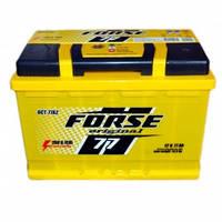 Аккумулятор FORSE 77Ah/12V (760) -+ Evro (об)