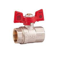 SD шар.кран 3/4 БГГ вода PN40