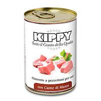 Консервы Kippy Dog для собак с кусочками говядины, 400 г