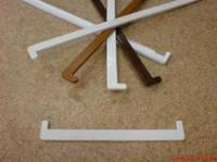 Торцевая заглушка к подоконнику 300 мм (бел, кор)