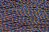Шнур 5мм с наполнителем (100м) т.синий+оранжевый
