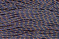 Шнур 5мм с наполнителем (100м) т.синий+оранжевый, фото 1