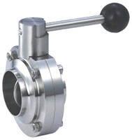 Заслонка батерфляй Сварка/Сварка нержавеющая сталь AISI 304  Ду80